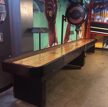 BurgerStand Shuffle Board